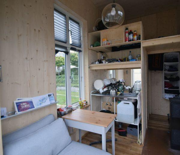 La solution de cet architecte contre les loyers élevés : vivre dans 6,4 m2
