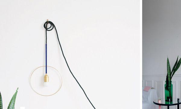 Tuto : Fabriquez une lampe baladeuse tendance Art déco