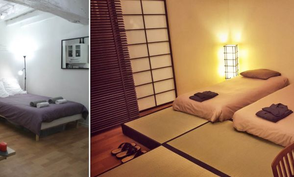Une Nantaise a transformé sa chambre en intérieur japonais traditionnel