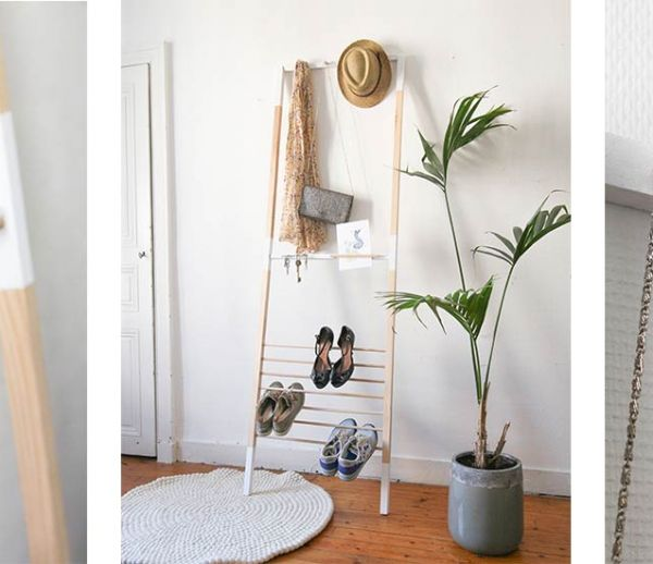 diy l tag re chelle tutoriel transformer une. Black Bedroom Furniture Sets. Home Design Ideas