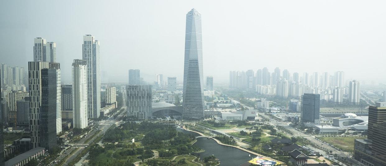 À Songdo, en Corée, on expérimente la ville du futur