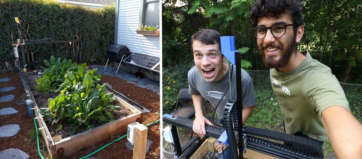 Farmbot, le robot qui cultive votre potager tout seul