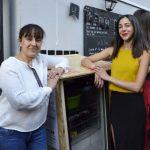 Les fondatrices du restaurant la Cantine du 18e, qui vont s'occuper du Frigo Solidaire au quotidien.