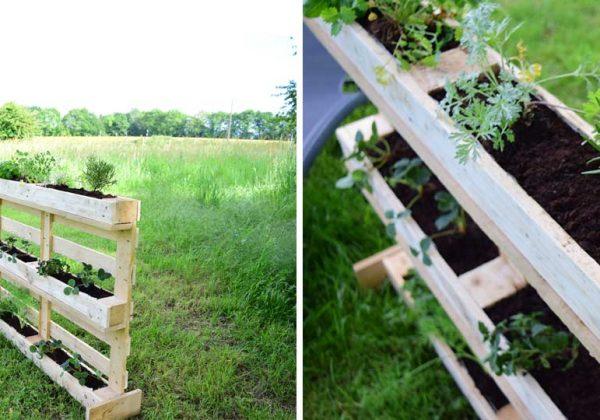 Fabriquez une jardinière verticale récup\' pour moins de 10 ...