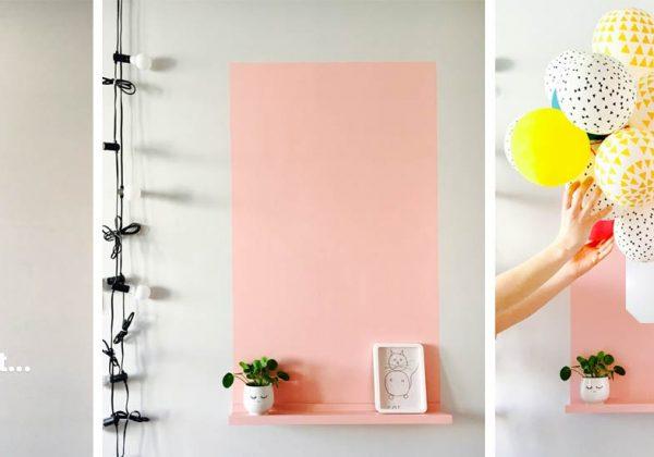 #décorez−vos−murs | #déco−de−chambre | #Aménagement Pratique | #Inspiration  Déco | #Tutos Déco | #Tutos Meubles