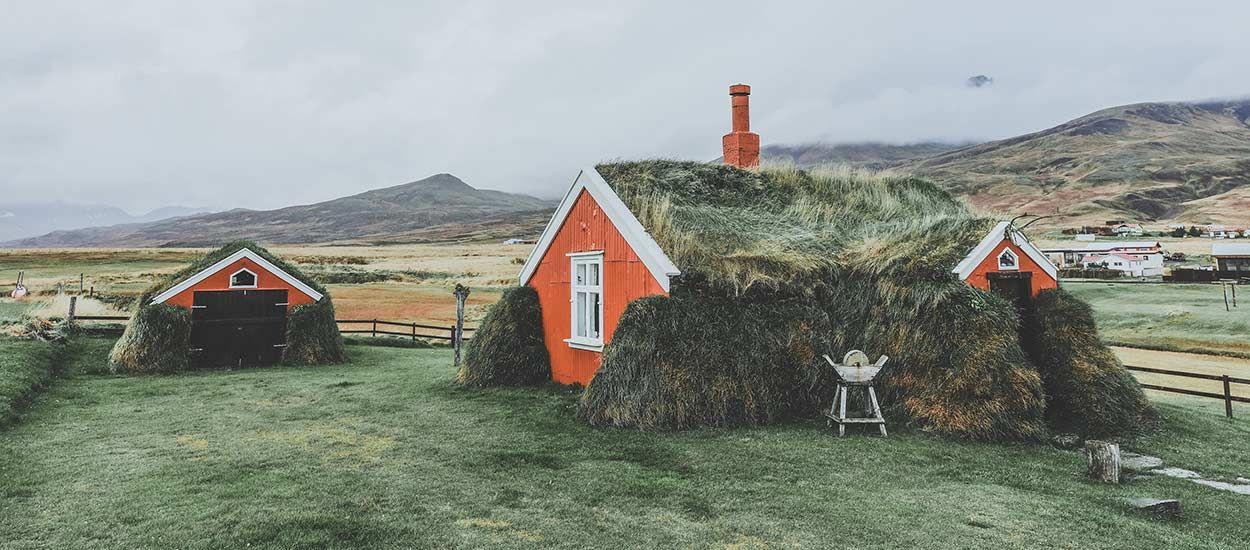 Découvrez cette verdoyante maison islandaise à couper le souffle