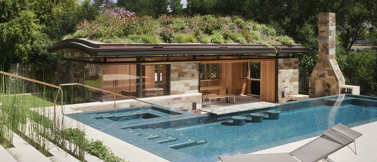 9 id es copier sur ces piscines de r ve id es am nagement piscine - Photos pool house piscine ...