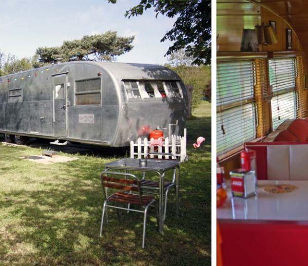 dormir dans un bus un logement atypique dans un v hicule typiquement anglais. Black Bedroom Furniture Sets. Home Design Ideas