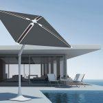 """Le """"SunFlower"""" est un parasol solaire fabriqué par la start-up américaine Shadecraft"""