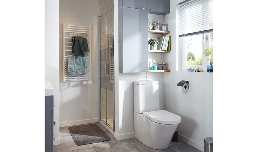 Aménager un point dédié aux WC.