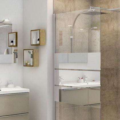 Beloya : une douche sur-mesure et modulable par Castorama