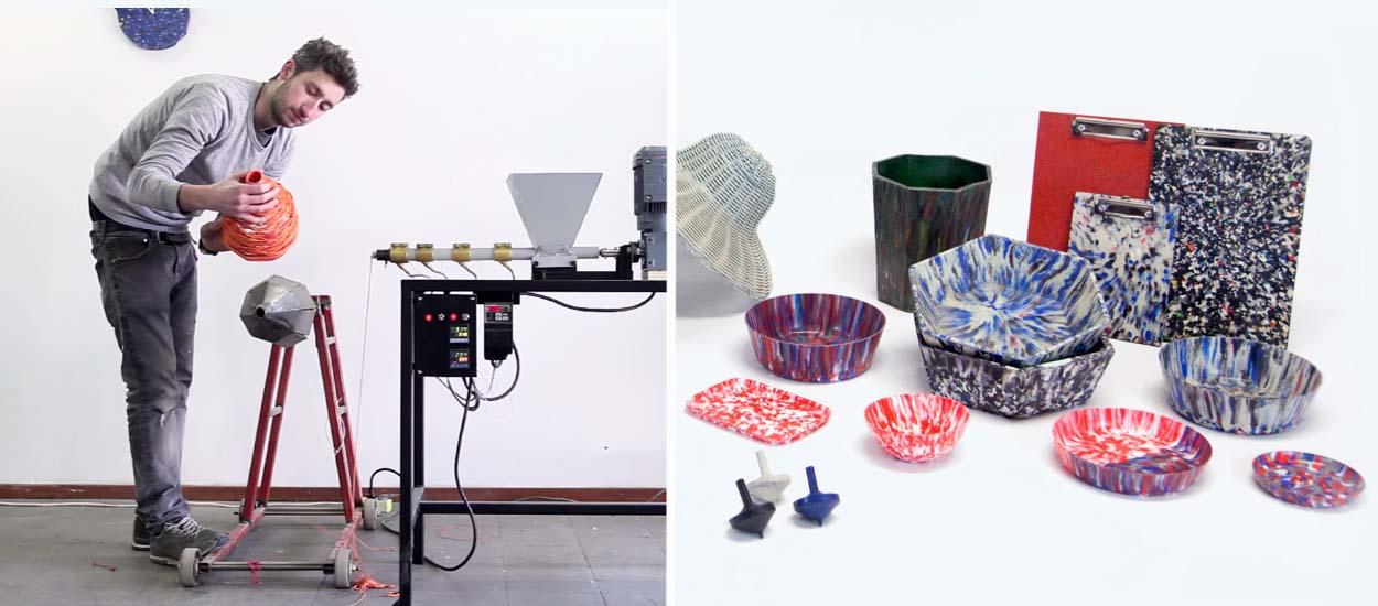 diy precious plastic les machines recycler le plastique de dave hakkens. Black Bedroom Furniture Sets. Home Design Ideas