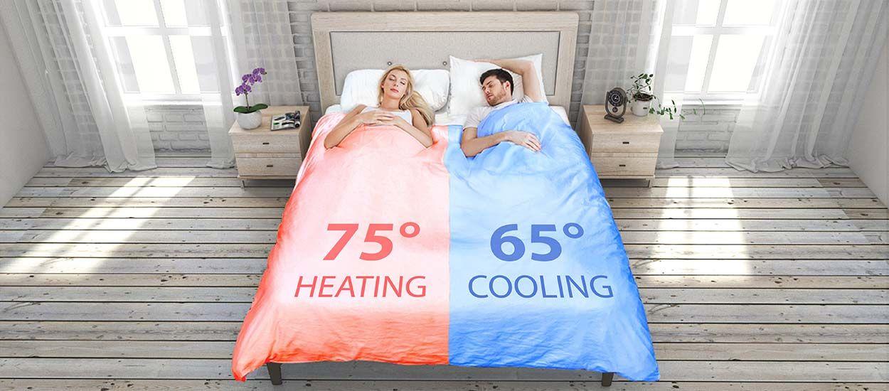 Choisissez la température de votre lit grâce à cette couette intelligente
