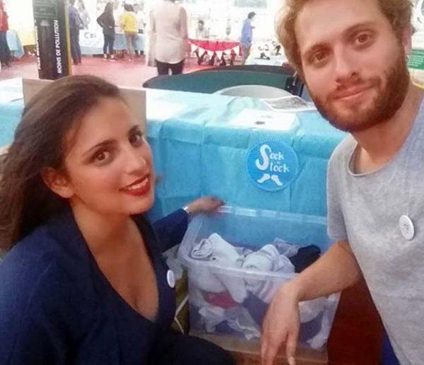 L'idée solidaire et anti-gaspi : Léa et Nathan collectent vos chaussettes orphelines