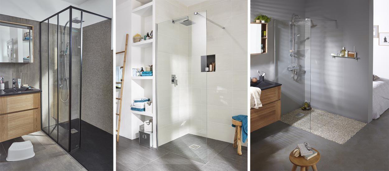 rebord douche douche spacieuse hauts rebords facilot receveur de douche acrylia duune douche. Black Bedroom Furniture Sets. Home Design Ideas