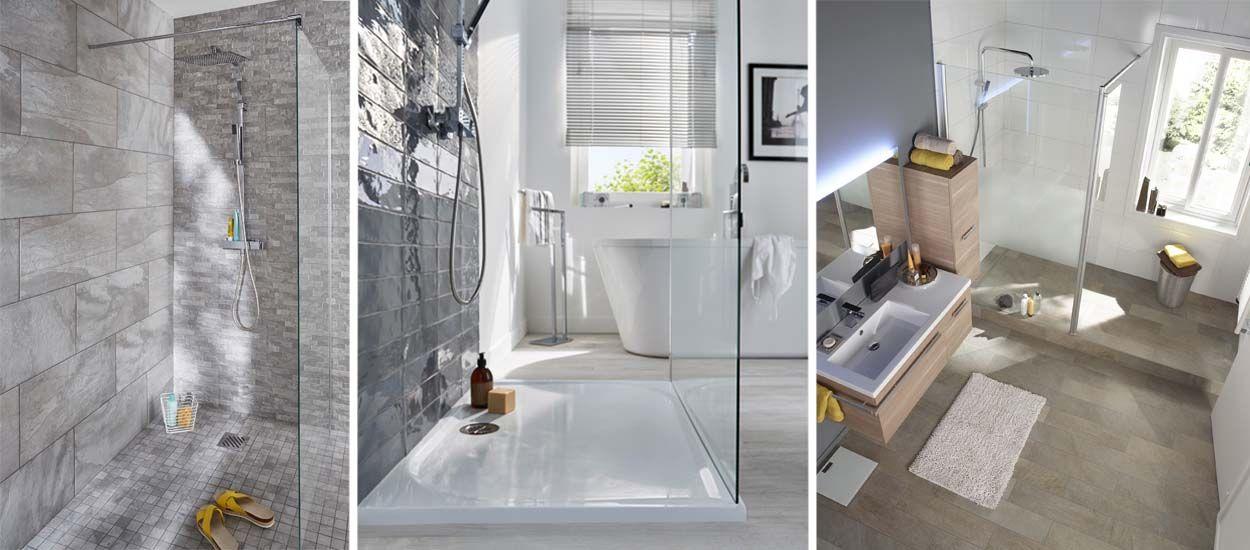 r nover une salle de bains avec une douche l italienne mode d emploi. Black Bedroom Furniture Sets. Home Design Ideas