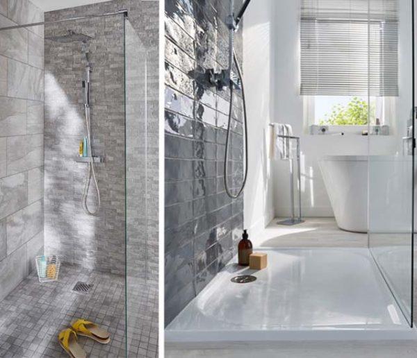 4 solutions pour installer une douche à l'italienne partout
