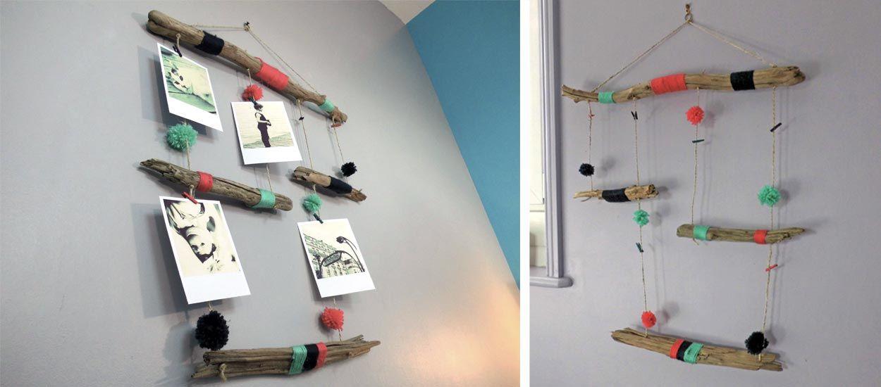 DIY pour fabriquer des cadres multi photos en bois flotté ...