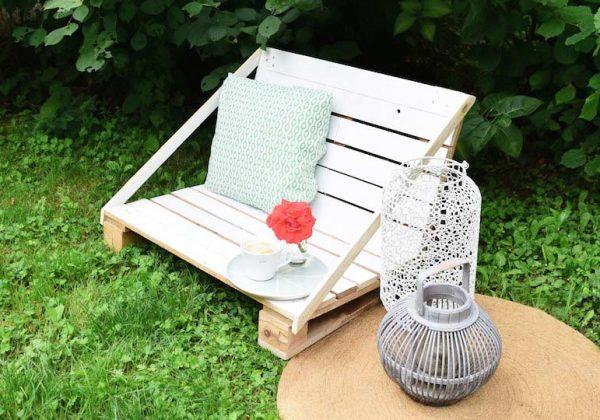 Un fauteuil de jardin beau et pas cher en DIY - Salon de jardin ...