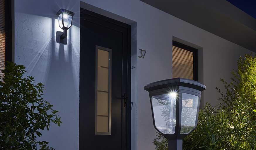 lampes solaires de jardin castorama stunning lampe solaire a poser photophore et lampe de. Black Bedroom Furniture Sets. Home Design Ideas
