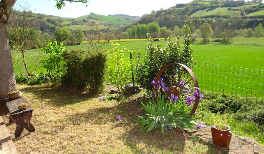 Vu sur l'horizon en Aveyron, début juin