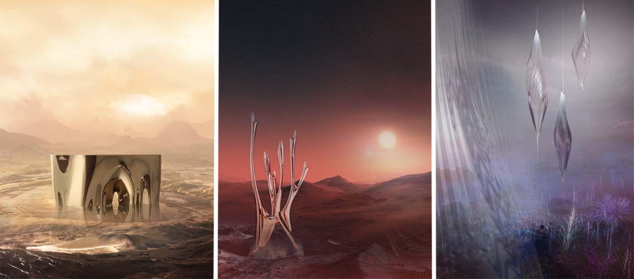 Voici comment nous meublerons nos maisons sur Mars