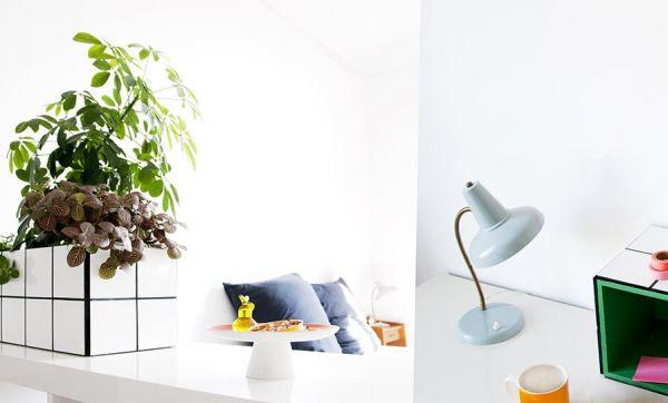 Tuto : Fabriquez ce joli bac à plantes carrelé qui est aussi un rangement de bureau