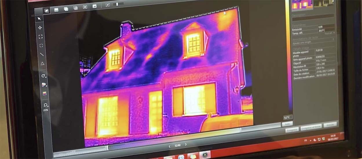 Balades thermiques : Découvrez comment la chaleur s'échappe des maisons