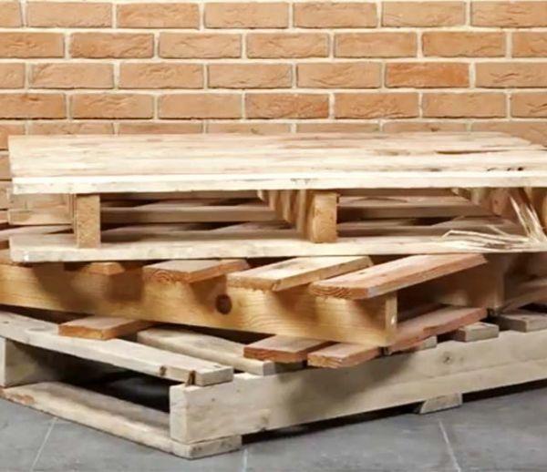 Comment choisir vos palettes pour fabriquer des meubles récup'?