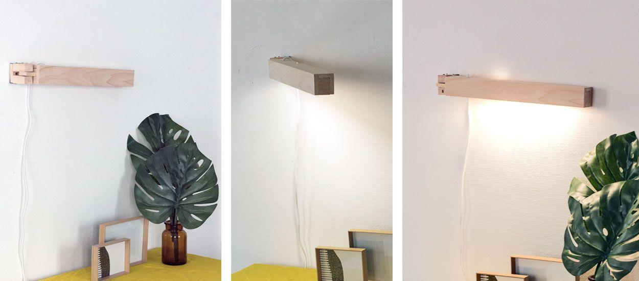 Tuto : Fabriquez une lampe de bureau articulée, jolie et super pratique !