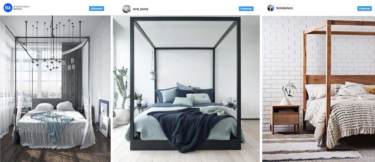 lit baldaquin fait maison tte de lit bois zara with lit baldaquin fait maison et une tte de. Black Bedroom Furniture Sets. Home Design Ideas