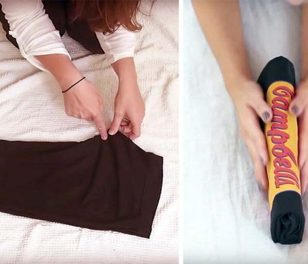 12 vidéos pour plier vos vêtements selon la méthode de Marie Kondo