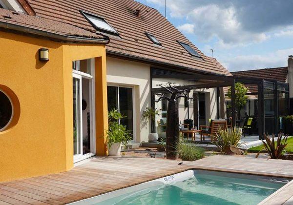 Décoration de jardin et terrasse : 7 inspirations de murs extérieurs ...