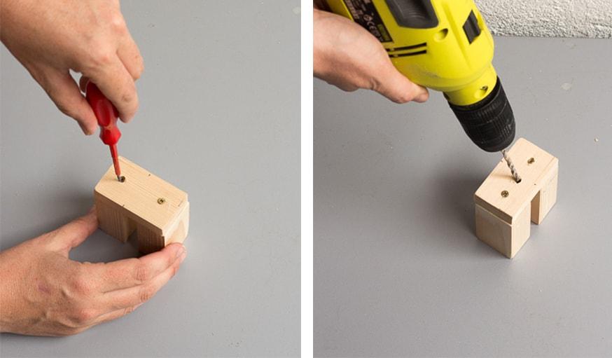 diy lampe de bureau scandinave fabriquer un luminaire articul en bois. Black Bedroom Furniture Sets. Home Design Ideas