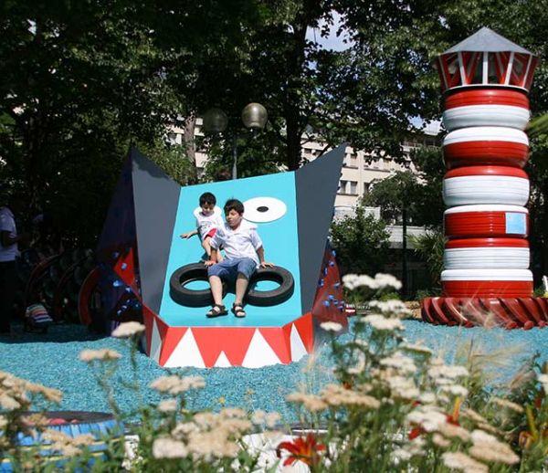 Voici 9 aires de jeux fantastiques qui vont faire rêver les enfants