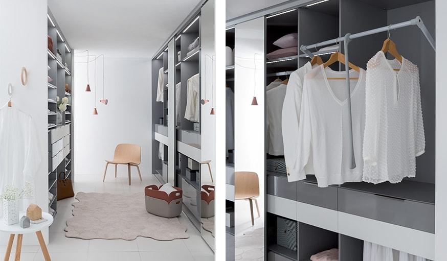 inspiration d co voici 6 dressings de r ve. Black Bedroom Furniture Sets. Home Design Ideas