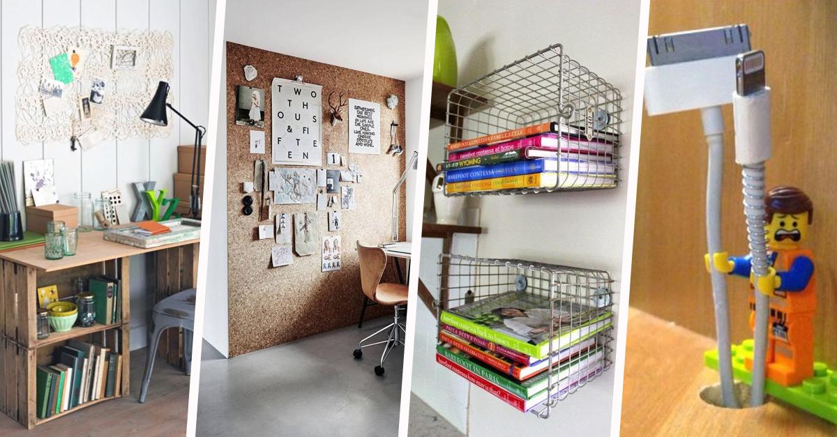 astuces de rangement pour la maison pas ch res nos 31 id es. Black Bedroom Furniture Sets. Home Design Ideas