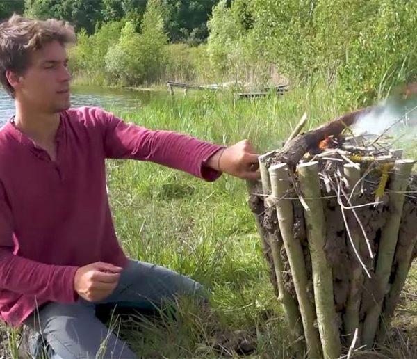 Tuto : Fabriquez une table à feu pour une cuisine en mode camping au jardin