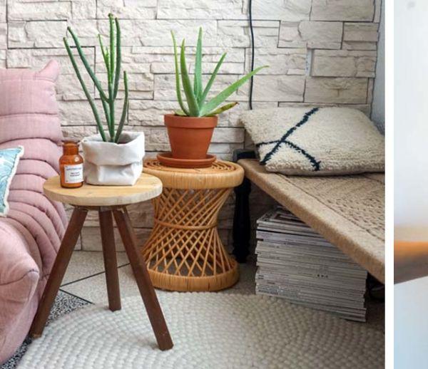 Tuto : Une jolie table d'appoint nordique vraiment facile à fabriquer