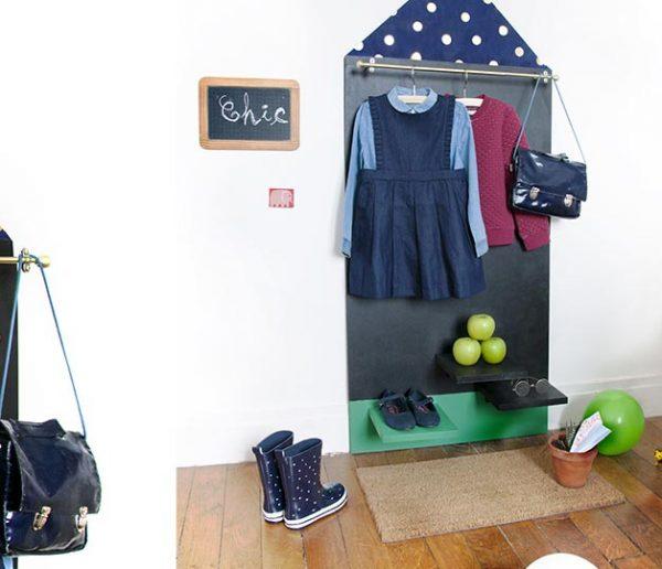 Tuto : Fabriquez un super portant à vêtements pour enfants modèles, ou pas !