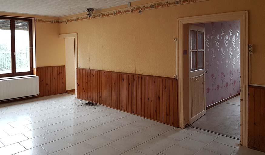 L'autre côté de l'ancien salon.