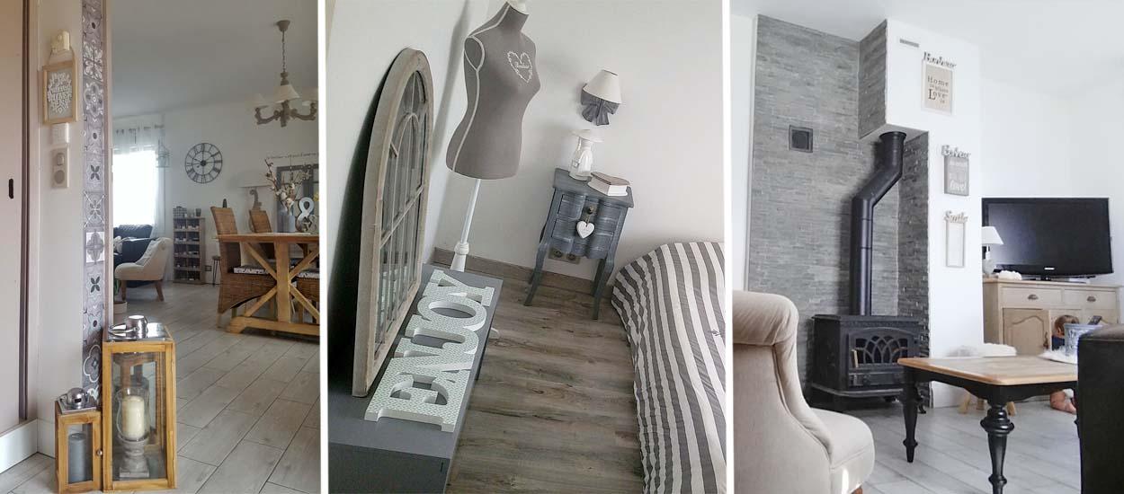 inspiration d co romantique 12 id es copier dans cette maison. Black Bedroom Furniture Sets. Home Design Ideas
