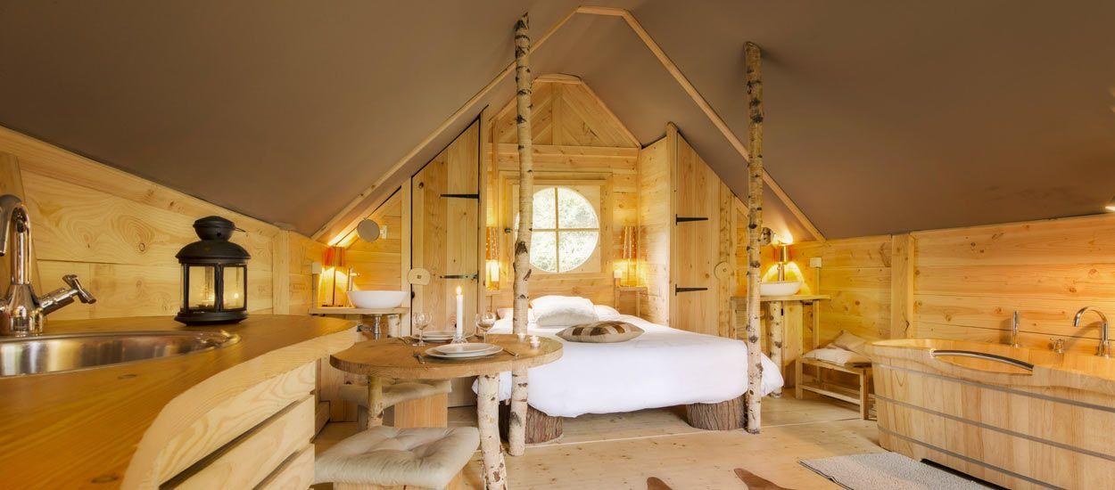 Des cabanes cosy pour passer une nuit au milieu de la forêt