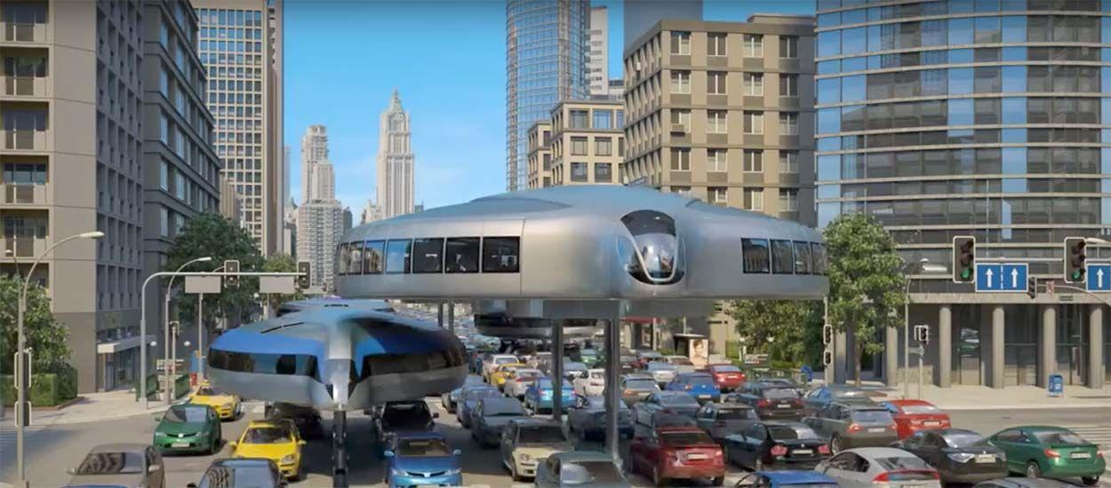 Ce moyen de transport révolutionnaire enjambe les embouteillages