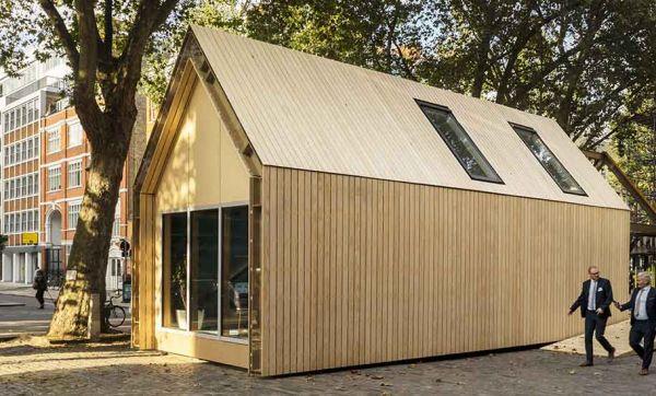 Cette maison peut être démontée et remontée à l'infini