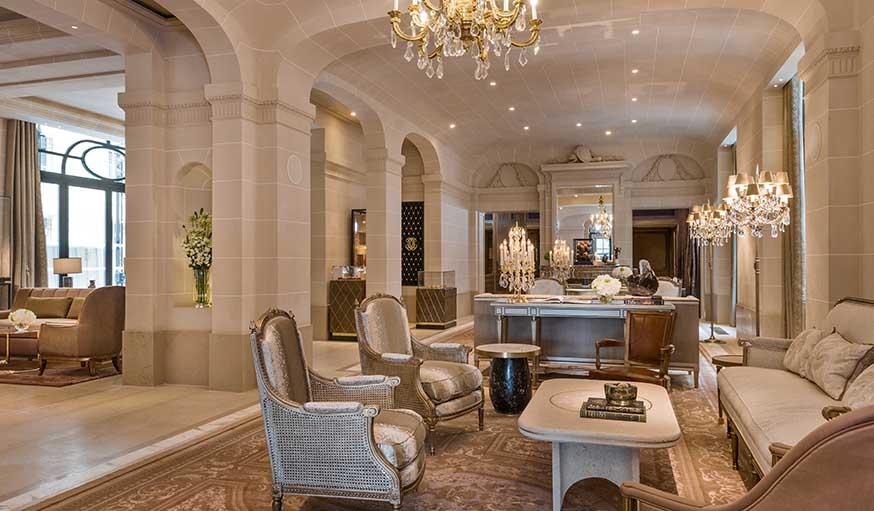 Hôtel de Crillon, Paris, rénové récemment par Tristan Auer
