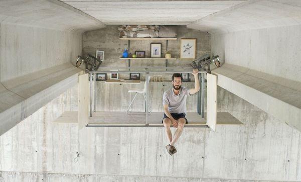 Ce designer a installé son studio sous un pont pour changer notre regard sur la ville