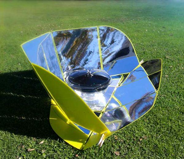 Ce four solaire vous permet de cuisiner en extérieur même en hiver !