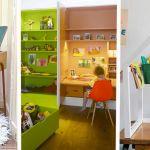 Des idées de bureaux d'enfants qui vont vous inspirer.