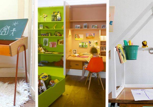 Déco chambre d\'enfant : Des idées de bureaux pour les filles ...